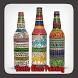 Bottle Glass Painting by gozali