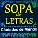 Sopa de letras : Ciudades by Ocio