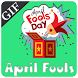 April Fool Animated Gifs by Fireball Solutions