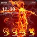 Fire aroud goddess Venus angel cool theme by Brandon Buchner