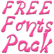 Fonts for FlipFont #16 by Fonts Free