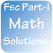 Fsc Part-I Maths Solutions by palaxo apps