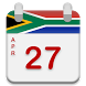 South Africa Calendar 2017 - 2018 by Yuno Solutions