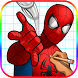 Learn How to Draw Spider Man Easy Step (FREE) by topps