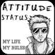 Attitude Status by Status-Shayari-SMS