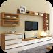 TV Cabinet Design by Saiyaapp