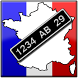 French Number Plates by JimtheChimp