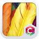 Yellow Feather Theme CLauncher by Baj Launcher Team
