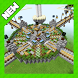 Sky wars for PvP. MCPE map