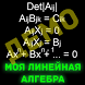 Моя Линейная Алгебра - Демо by Vespa Crabro