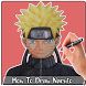 How To Draw Naruto Characters by EasyDrawing
