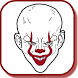How To Draw Pennywise, It Clown Step By Step by AyTouk Inc