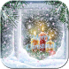 Christmas White snow Theme by Leopard Print Themes