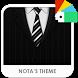 Mr Black Xperia Theme by Nota Dao