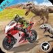 Dino World Bike Race Game - Jurassic Adventure by Game Loop Studio