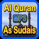 Full Quran MP3 As Sudais by Midafa Apps