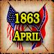 1863 Apr Am Civil War Gazette by Vinyard Studios