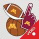 Minnesota Golden Gophers Animated Selfie Stickers
