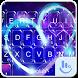 Neon Heart Keyboard Theme by Sexy Free Emoji Keyboard Theme