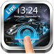Fingerprint Lock Screen Speed Car by Weather Widget Theme Dev Team