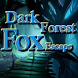 Dark Forest Fox Escape by fingersplay