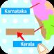 India States & Capitals Map Quiz by GameSaien.com
