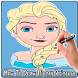 How To Draw Disney Princess Characters by EasyDrawing