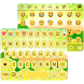 Lemon Emoji Keyboard Theme by Color Emoji Keyboard Studio