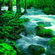 Green Waterfall LWP by Daksh Apps