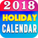 Holiday Calendar 2018 India New by gamesrushti