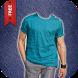 Man Casual Shirt Photo Suit by Pixelsoft