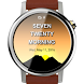 Text Clock Android Wear by Quantumbox