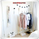 Clothes Standing Hangers Idea by Dedeveloper