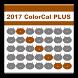 2017 ColorCal PLUS BROWN (E) by FourCatsApp