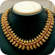 Gold Necklace Set Design VIDEO by Pooja Vadaliya93