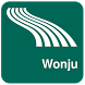 Wonju Map offline by iniCall.com
