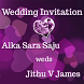 Jithu weds Alka by SigntoDesign