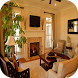 simple living room designs by Basilomio