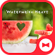 Cute Wallpaper Watermelon Heart Theme by +HOME by Ateam