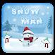 White Snowman Live Wallpaper