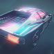 Neon Car Rider 2 - Neon light motocross game by GamesSpinner