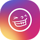Funny Face For Instagram by Rebowage