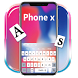 PhoneX Keyboard Theme by NYC Beauty Themes