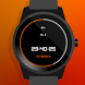 Watch Face - Orange Glow by S&C Software