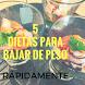 5 Dietas para Bajar de Peso by Barsan