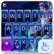 Stars Aquarius Keyboard Theme by Love Free Themes