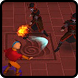 Aang: The Airbender Fighting by three musketer labs