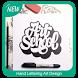 Hand Lettering Art Design by Romulus Appss