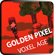 Golden Pixel Voxel Age by Destroying Dust