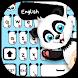 New black panda keyboard